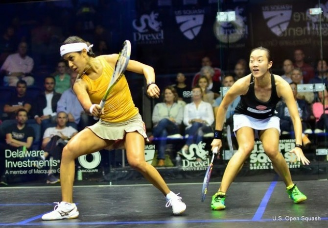 Women sport news - Nicol David Sets Up Raneem Revenge Bid In Philadelphia