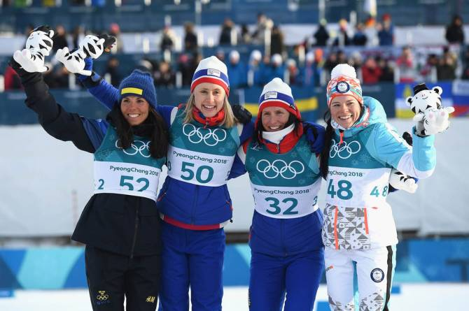Women sport news - Norways's Haga produces stunning run to win women's 10km Freestyle Gold