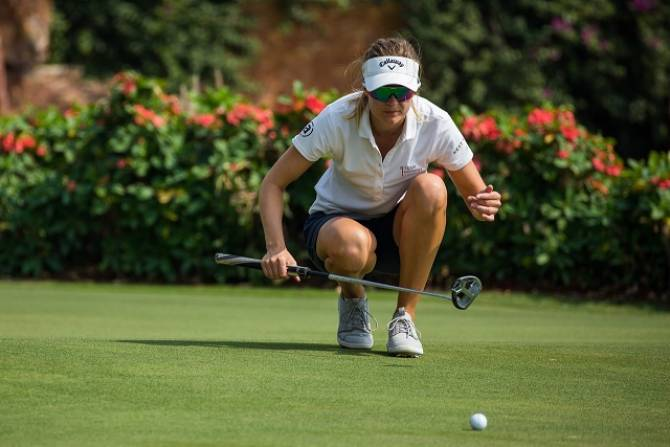 Tonje Daffinrud opens with six-under at Hero Women's Indian Open