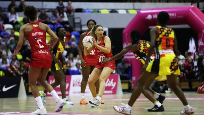 Women sport news - Roses seal Vitality Netball International Series with game to spare