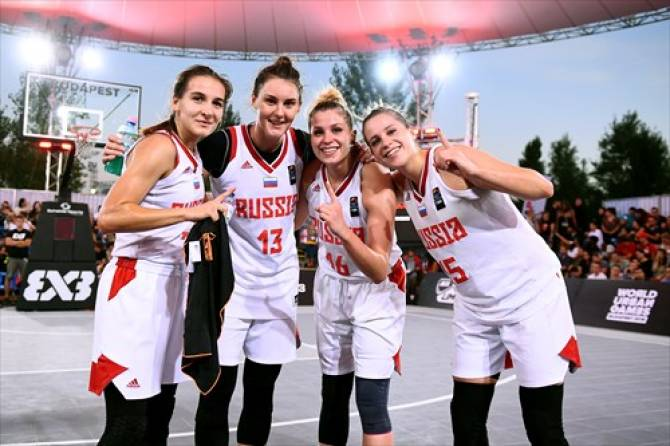Women sport news - Russia's women win FIBA 3x3 U23 Nations League 2019