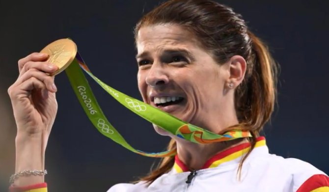 Women sport news - Ruth Beitia wins Olympic High Jump Gold