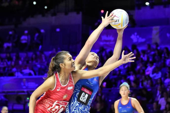 Women sport news - SAMOA MAINTAIN PERFECT GROUP E RECORD