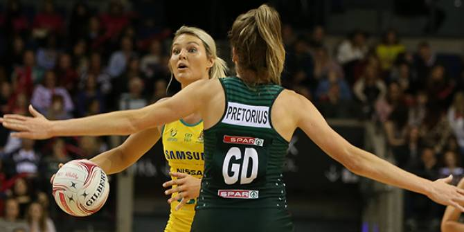 Women sport news - Samsung Diamonds (62) defeat South Africa SPAR Proteas (45)