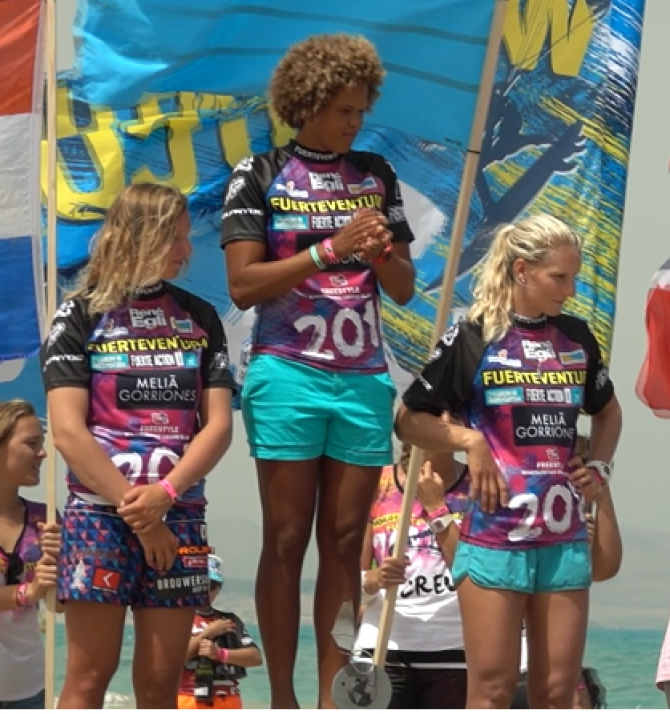 Women sport news - Sarah Quita Offringa wins Freestyle Grand Slam Fuerteventura