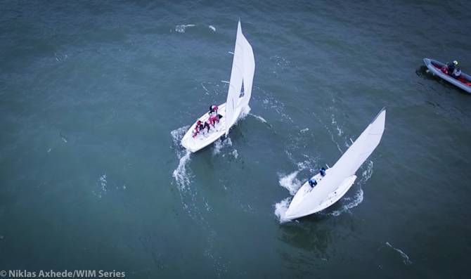 Women sport news - Semi-Finalist Decided at World Match Racing Championship