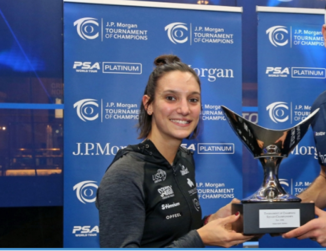 Women sport news - SERME CAPTURES 2020 TOURNAMENT OF CHAMPIONS TITLE