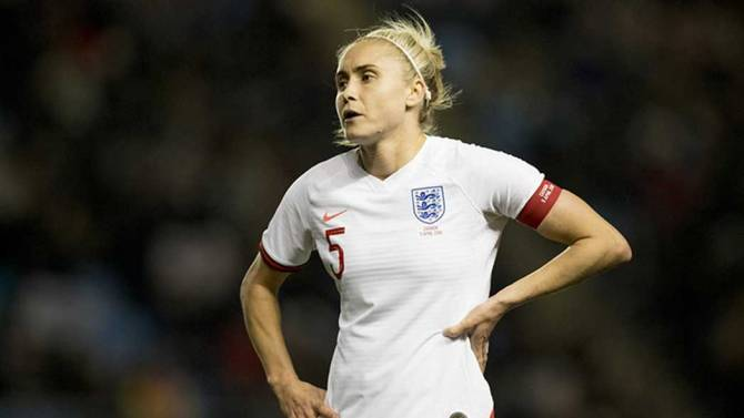 Women sport news - Steph Houghton has withdrawn from the England squad.