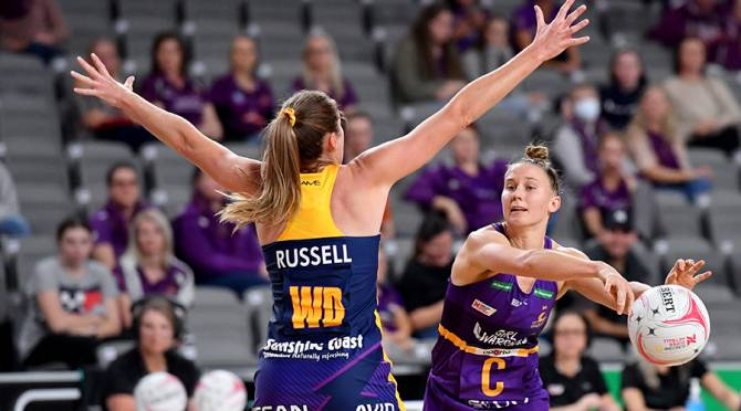Women sport news - Super shot a hit in Lightning netball win