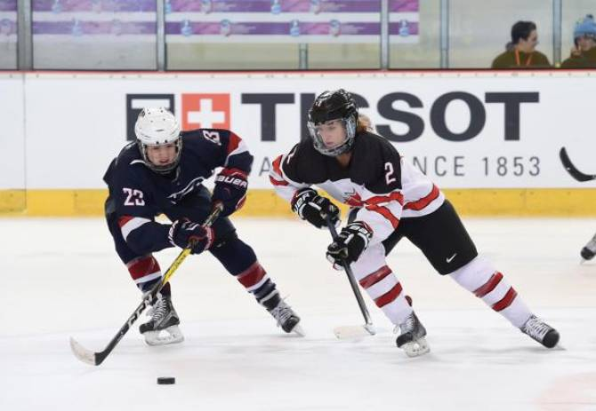 Women sport news - Team USA Blanks Russia, 6-0 At the IIHF U18 Women's Worlds