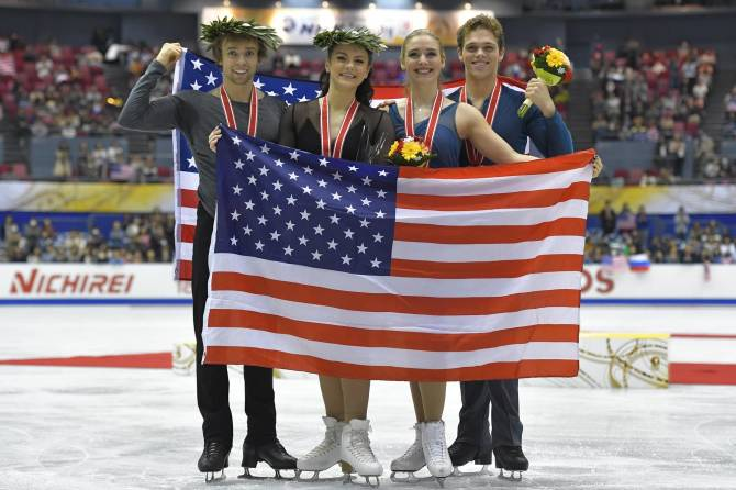 Women sport news - Team USA Wins Two Medals on Final Day of NHK Trophy