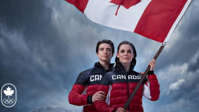 Women sport news - Tessa Virtue and Scott Moir named Team Canada's PyeongChang 2018 Flag Bearers