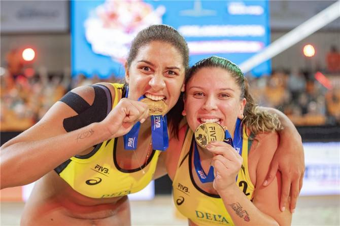 Women sport news - The Meteoric rise of Rebecca and Ana Patricia