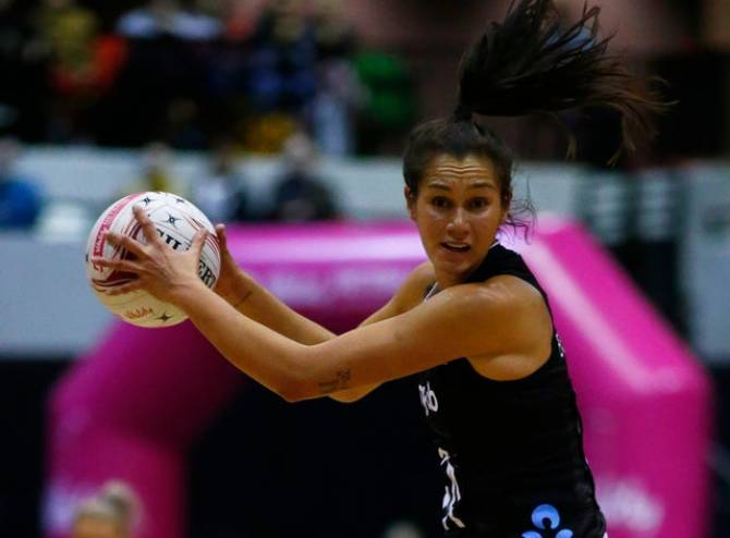 The Silver Ferns step up to defeat The Roses in Nottingham