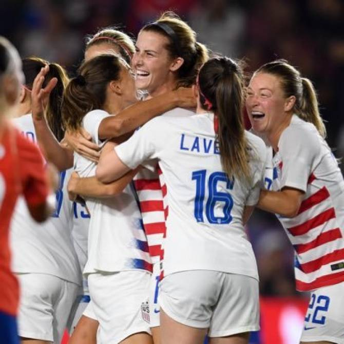 Women sport news - Tierna Davidson, USA's tiki-taka centre-back