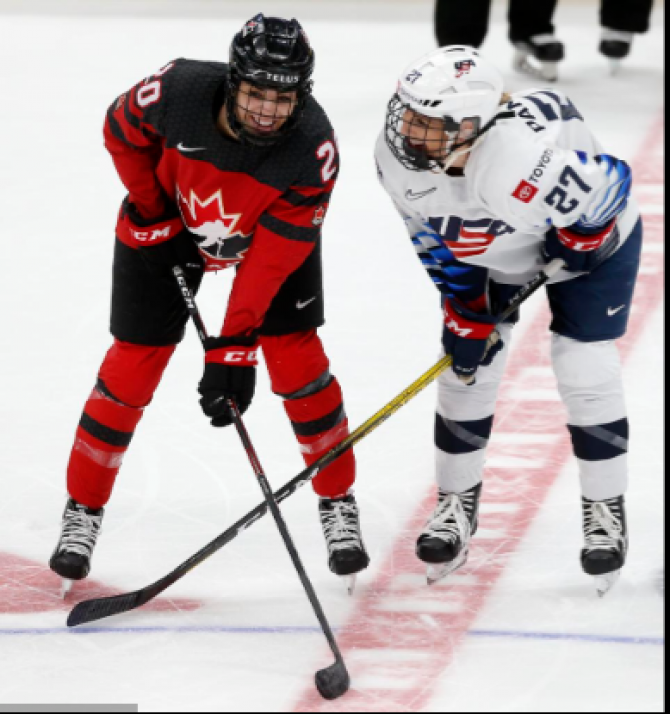 Women sport news - U.S. Closes Out Series with 4-3 Overtime Win Over Canada