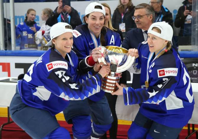 Women sport news - U.S. Wins Shootout for Fifth Straight Women's Worlds Gold