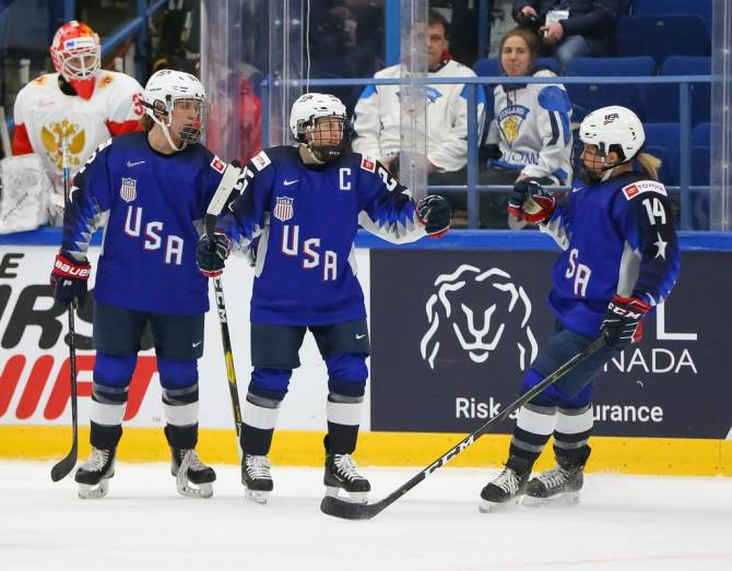 Women sport news - U.S. Women Down Russia, 10-0, in Final Prelim B