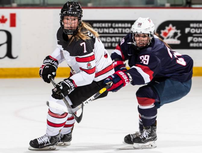 U.S. Women Sweep U18 & U22 Series Openers