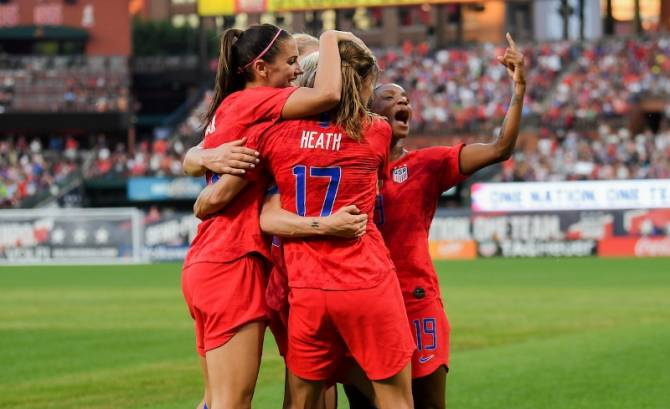 USA defeat New Zealand 5-0