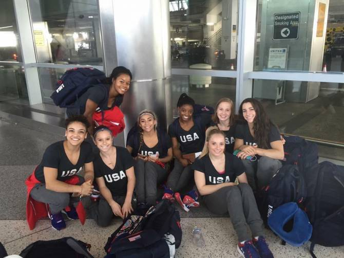 Women sport news - USA Gymnastic Team Heading to Rio
