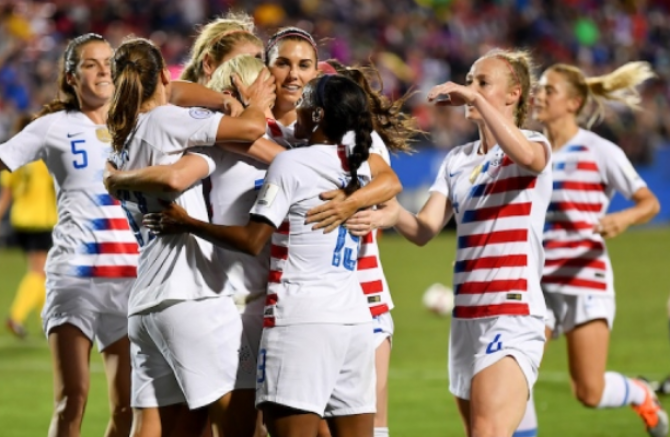 Women sport news - USA qualifies for 2019 Fifa World Cup with big win over Jamaica