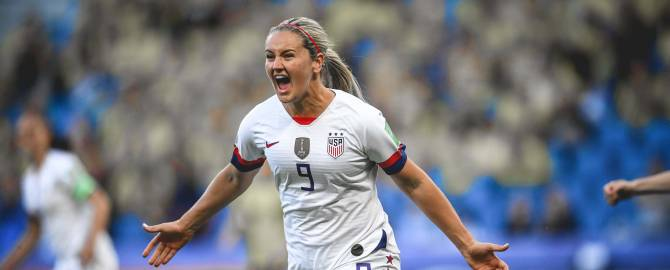 Women sport news - USA top women's world cup group with win over Sweden