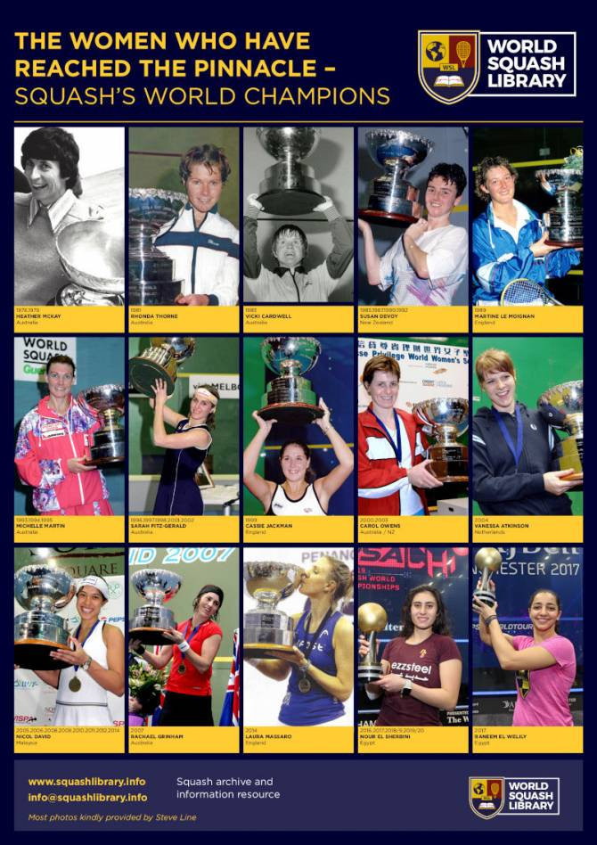 Women sport news - World Squash Library Launches Women's World Championship Package