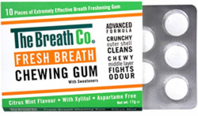 Women sport products - The Breath Co Chewing Gum