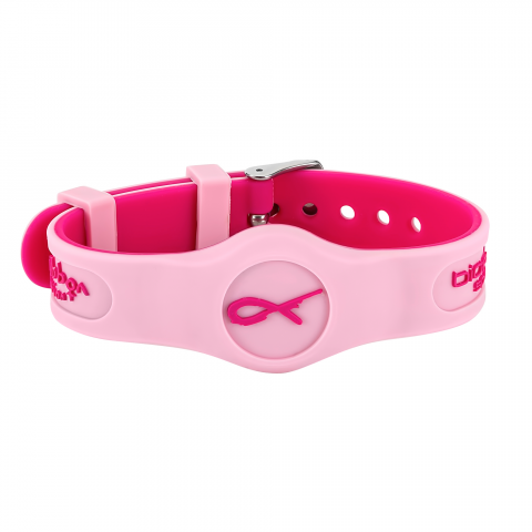 PINK RIBBON SPORT FLEX MAGNETIC WRISTBAND