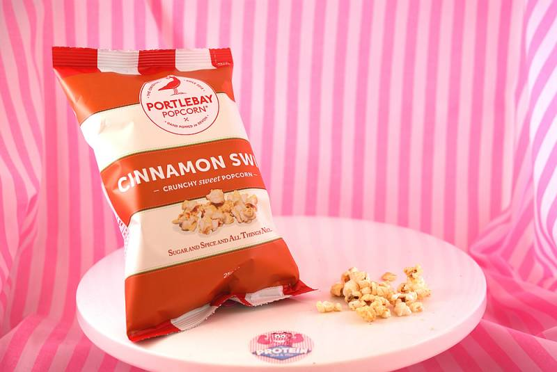 Spice up your Xmas with Portlebay Popcorn's Cinnamon Swirl
