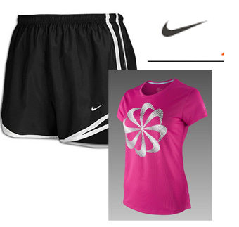 Nike Running Range-The Nike Challenger T-Shirt and the Tempo running shorts