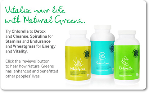 Natural Greens Nutrient Rich Super Foods