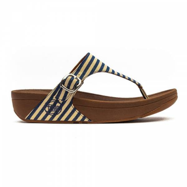 Fitflop-The Skinny Blue Stripe