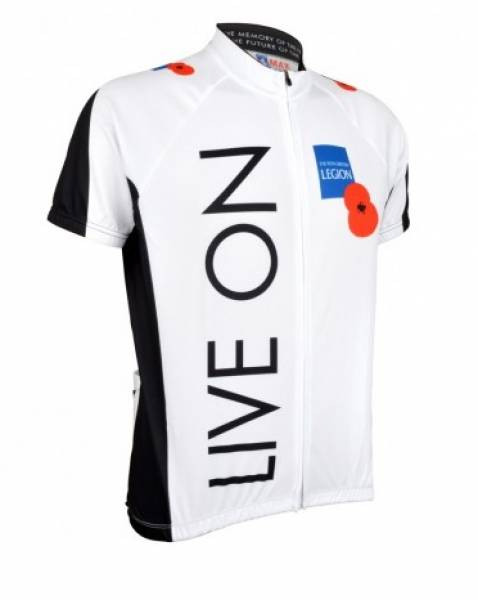 The Royal British Legion Cycling Shirt