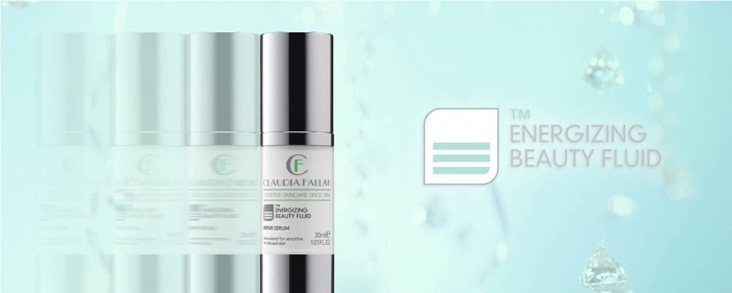 Claudia Fallah Energizing beauty fluid 'anti ageing serum