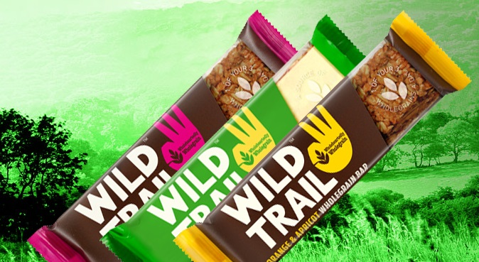 WIld Trail Wholegrain Oat and Fruit Bars