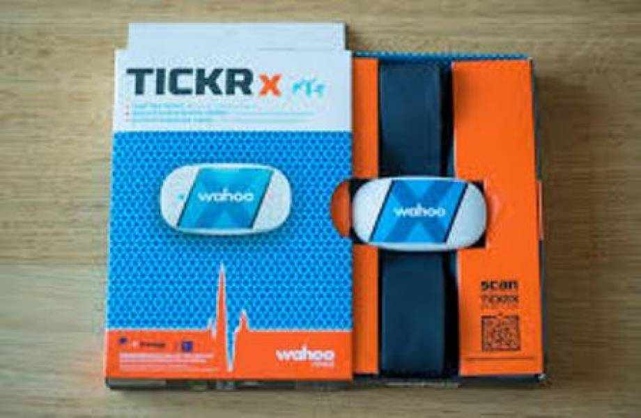 Tickr X heart rate monitor and fitness tracker