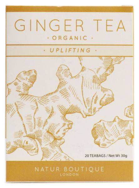 Natur Boutique's Organic Ginger Tea