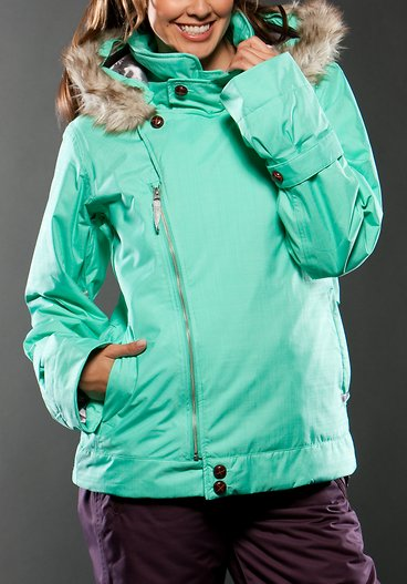 Tiers Snow Jacket by Oakley for The Gretchen Blieber Collection