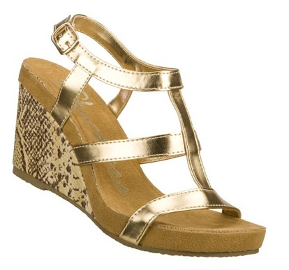 Skechers Wedges Modiste Venom Gold