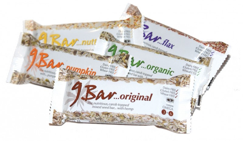 9-Bar The Great Tasting Nutritious Bar