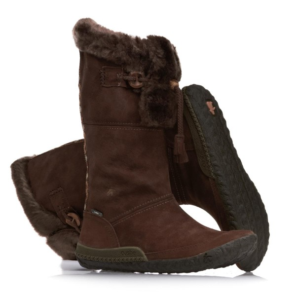 Cushe Cabin Fever Leather Boots - Espresso Suede