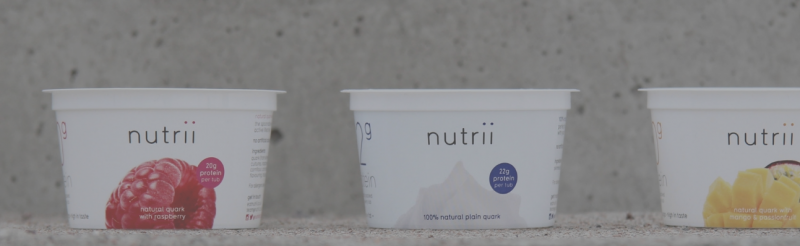 Nutrii Products-Great tasting Quark